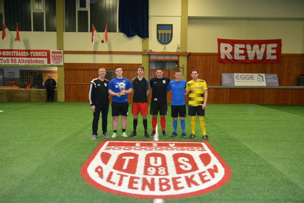 Lokführer gewinnen TuS 98 Cup