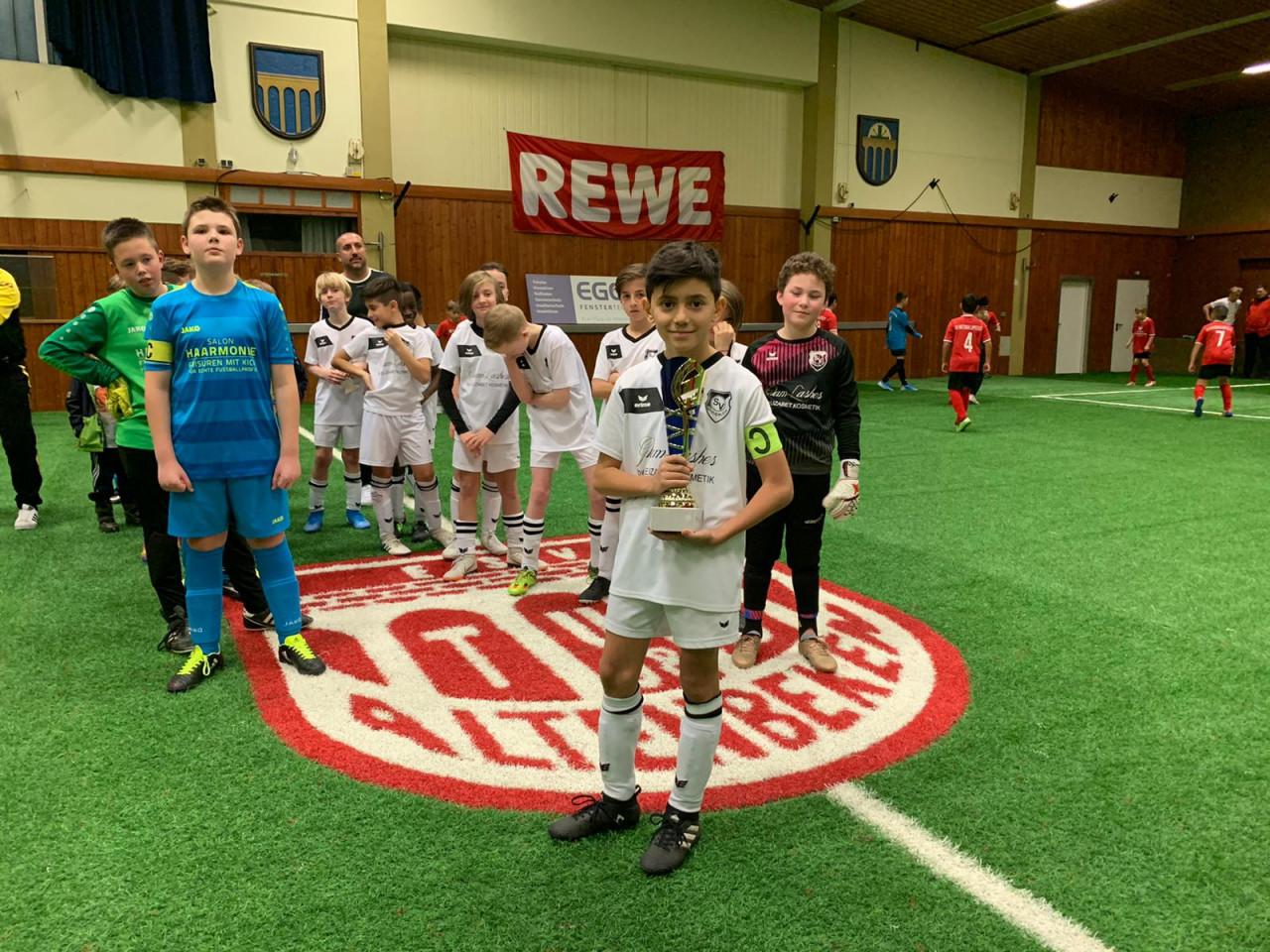 SV Marienloh gewinnt E-Jugend-Turnier