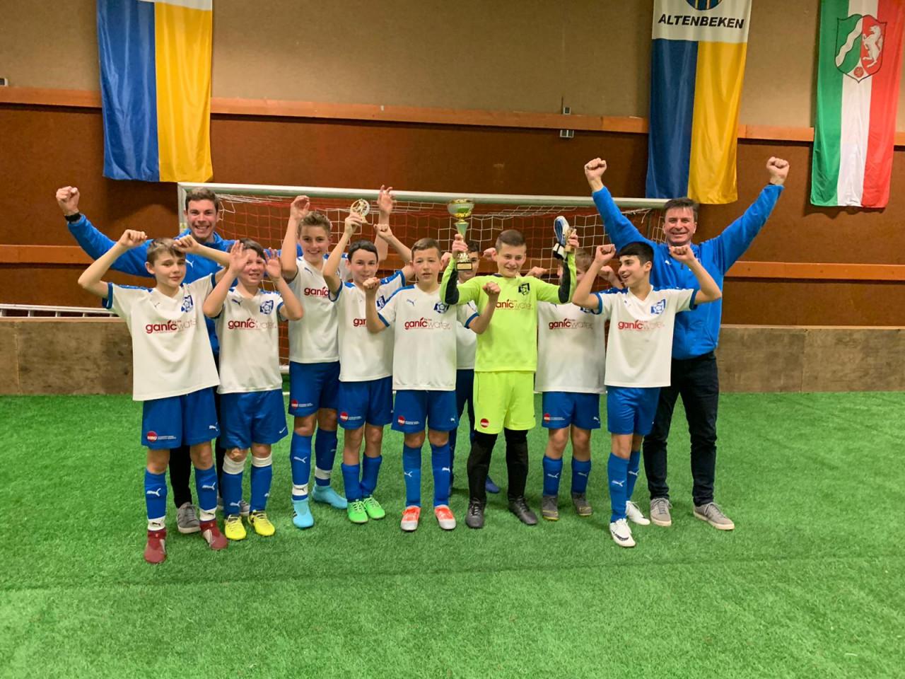 SF BW Paderborn gewinnt D-Jugend-Turnier